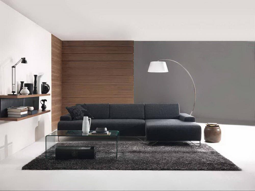 Aran acja nowoczesnego salonu podstawowe zasady for Modern and sleek living room designs