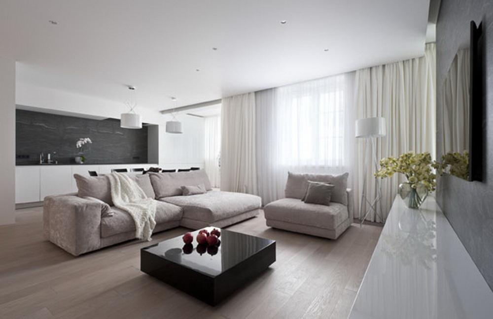 Aran acja nowoczesnego salonu podstawowe zasady - Idee van interieurontwerp ...