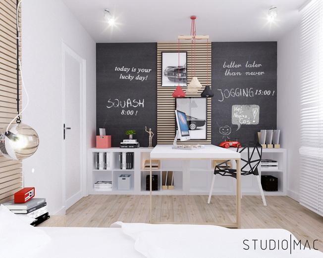 Aranżujemy nowoczesny pokój młodzieżowy - Archiweb.pl