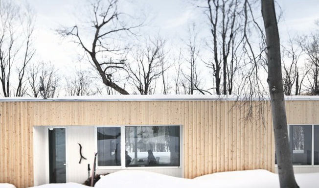 Blue Hill House w Quebeku