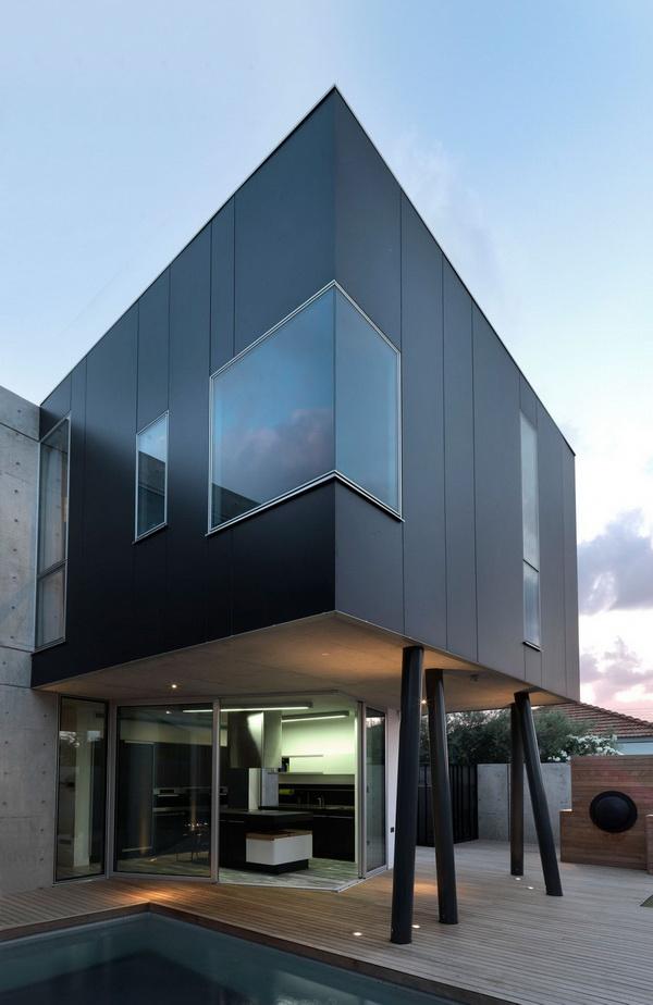 Dom 0605 na cyprze for Exterior design elements