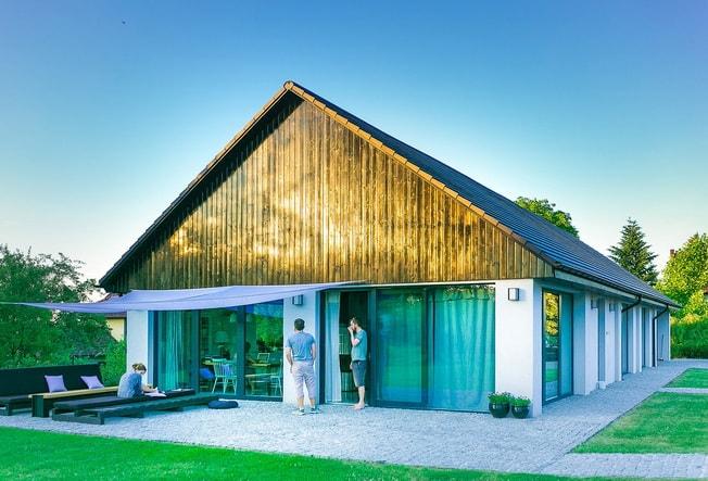 W Mega Niezwykłe elewacje domów – pomysły i inspiracje - Archiweb.pl IY59