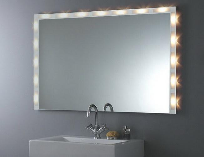 Pomys y na lustra azienkowe - Espejos con luces para banos ...