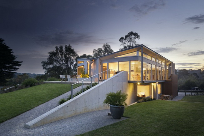 Rest House autorstwa Tim Spicer Architects i Col Bandy Architects