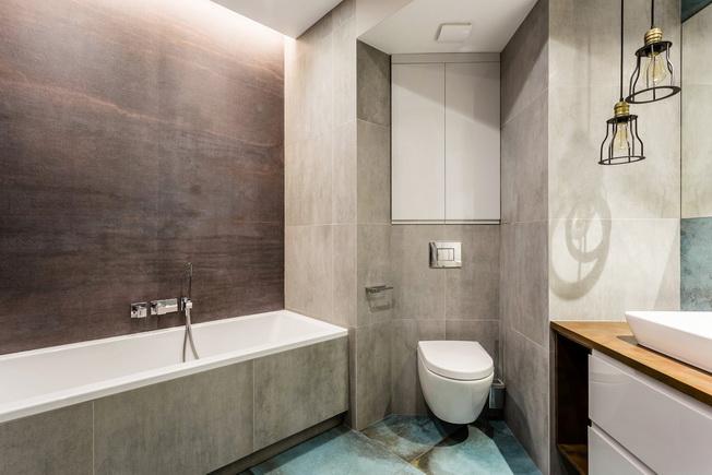 Czas Na Zmiany Szara łazienka W Różnych Odsłonach Archiwebpl