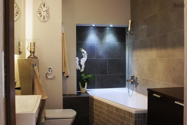 Modna łazienka Z Wanną Narożną W Roli Głównej Archiwebpl