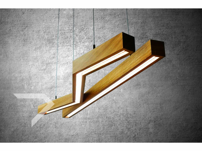 II Diament Designu - Lampa Woodline Square
